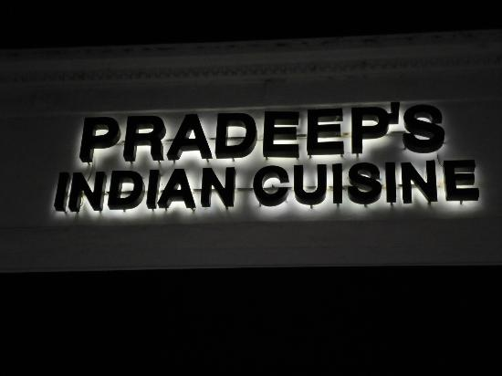 Pradeeps Indian Cuisine