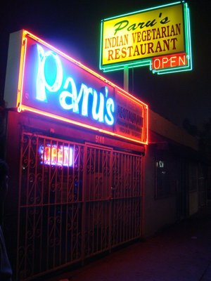 Paru's Indian Vegetarian Restaurant